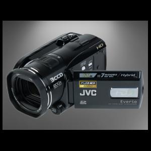 Maq. Filmar JVC GZ-HD3E