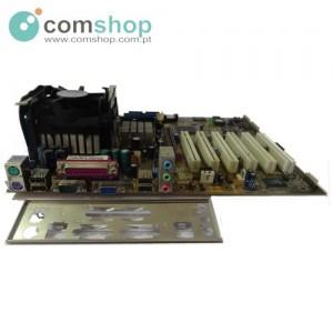 Motherboard c/ CPU e Cooler...