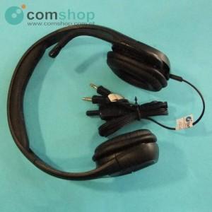 Headphones with Plantronics...