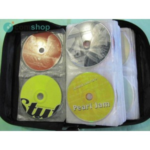 Suitcase with music CDs
