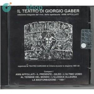 CD de música Giorgio Gaber...