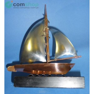 Sailing Boat in Copper and...