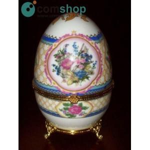 Porcelain egg (Fabergé...