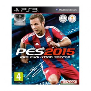 Jogo PS3 Konami PES 2015