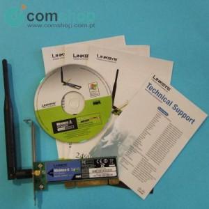 Placa Wireless p/ PC...