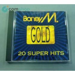 """CD de música Boney M. """"Gold..."""