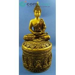 Caixinha com Buda em meditação