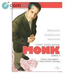 Filme DVD - série Monk Série 1