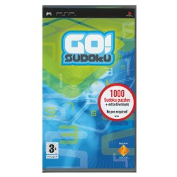 Jogo - PSP Sony Go! Sodoku