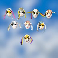 Máscaras de Veneza decorativas